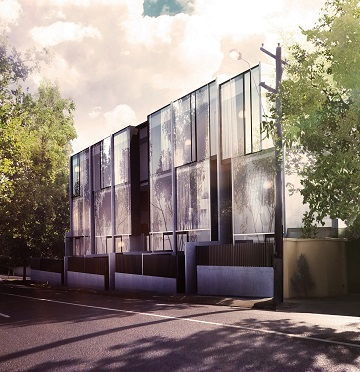 Abria townhouses 631 orrong road toorak vic project for Townhouse construction cost